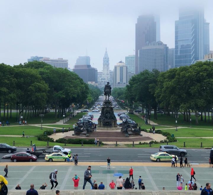 Philadelphia: History +Food